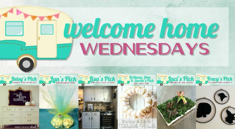 Welcome Home Wednesdays Link Party #8