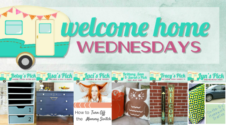 Welcome Home Wednesdays Link Party #5