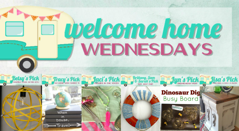 Welcome Home Wednesdays Link Party #3