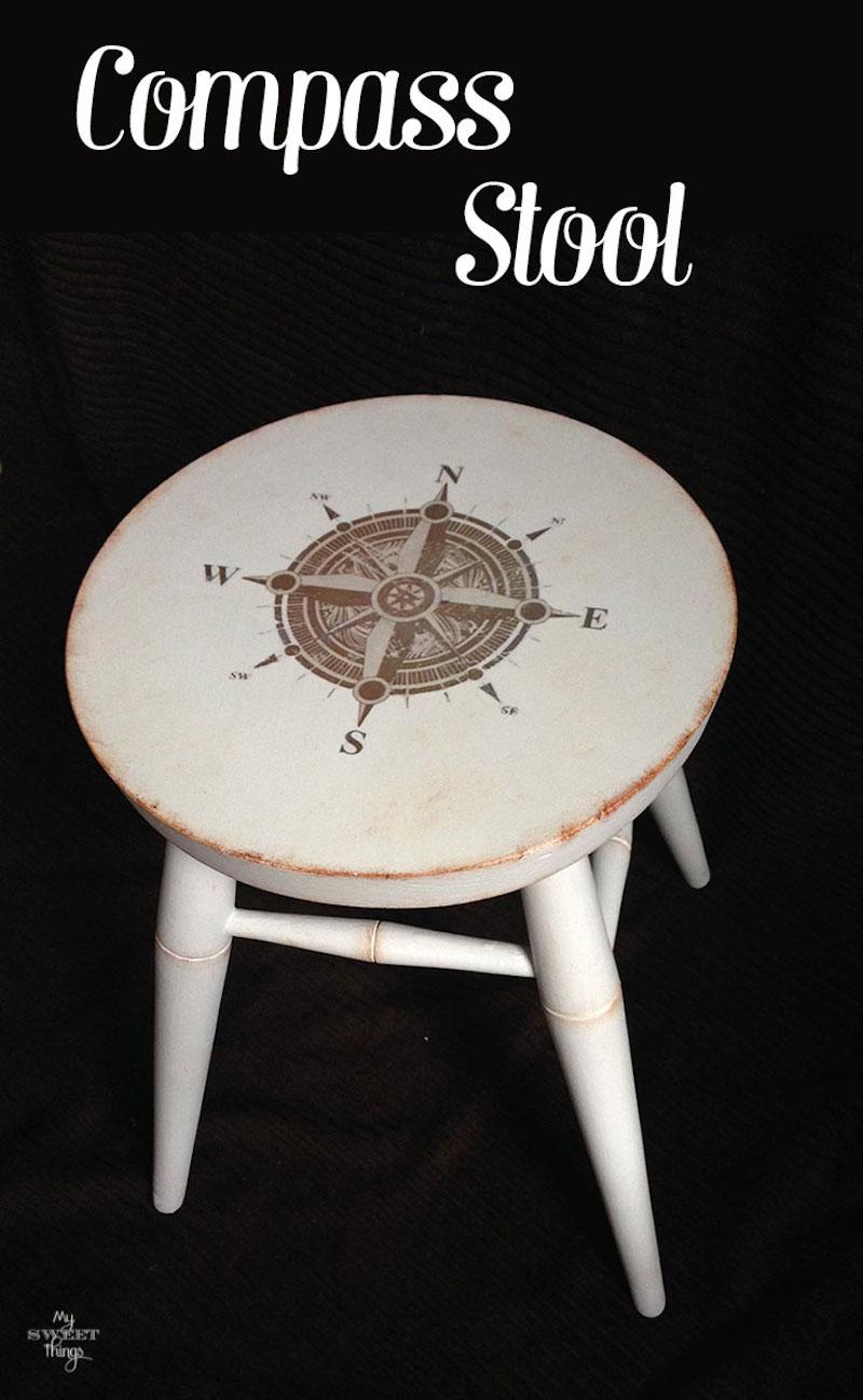 Compass-Stool