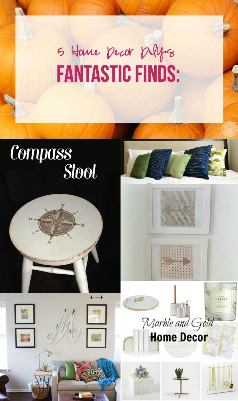 Fantastic Finds 5 Home Decor DIYs