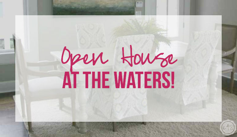 Open House at the Waters 2015!