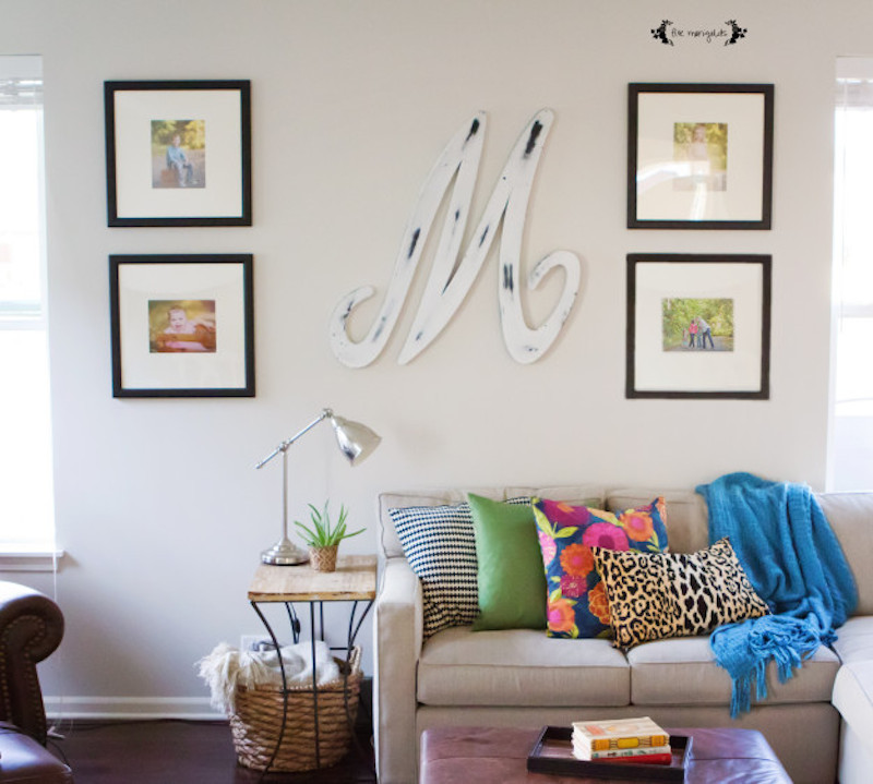 living-room-with-bright-pillows-and-symmetrical-wall-gallery-five-marigolds2