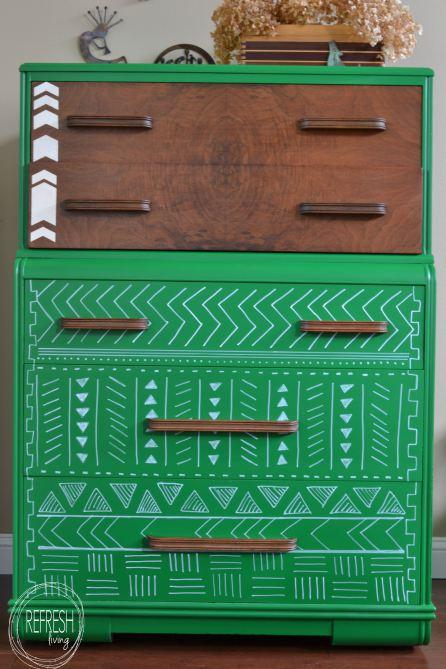tribal-pattern-dresser