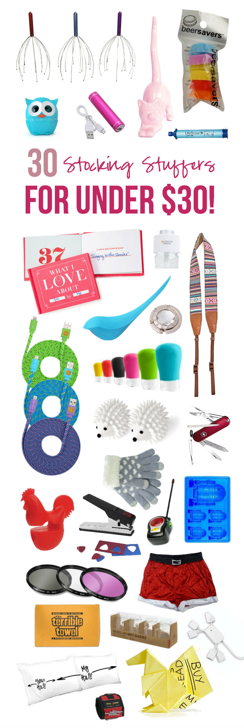 30 Stocking Stuffers Under $30... with Happily Ever After Etc