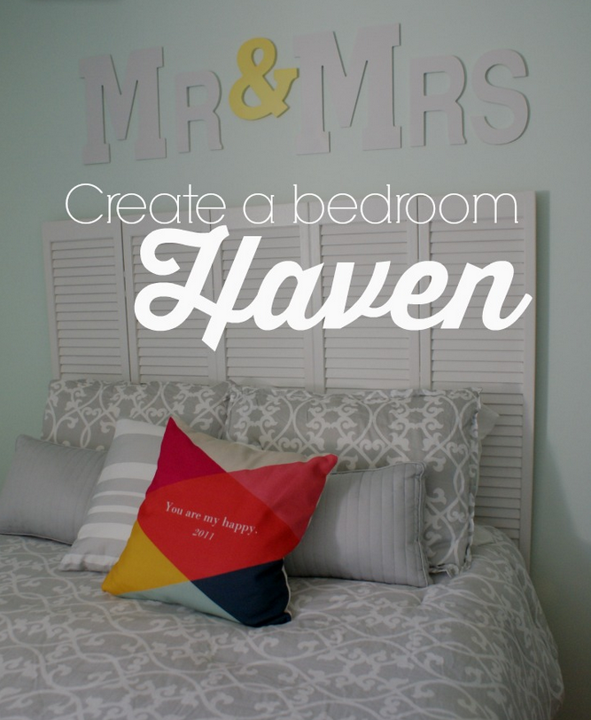 Sugar Crumbs Creating a Bedroom Haven