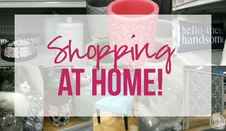 Shopping… At Home!