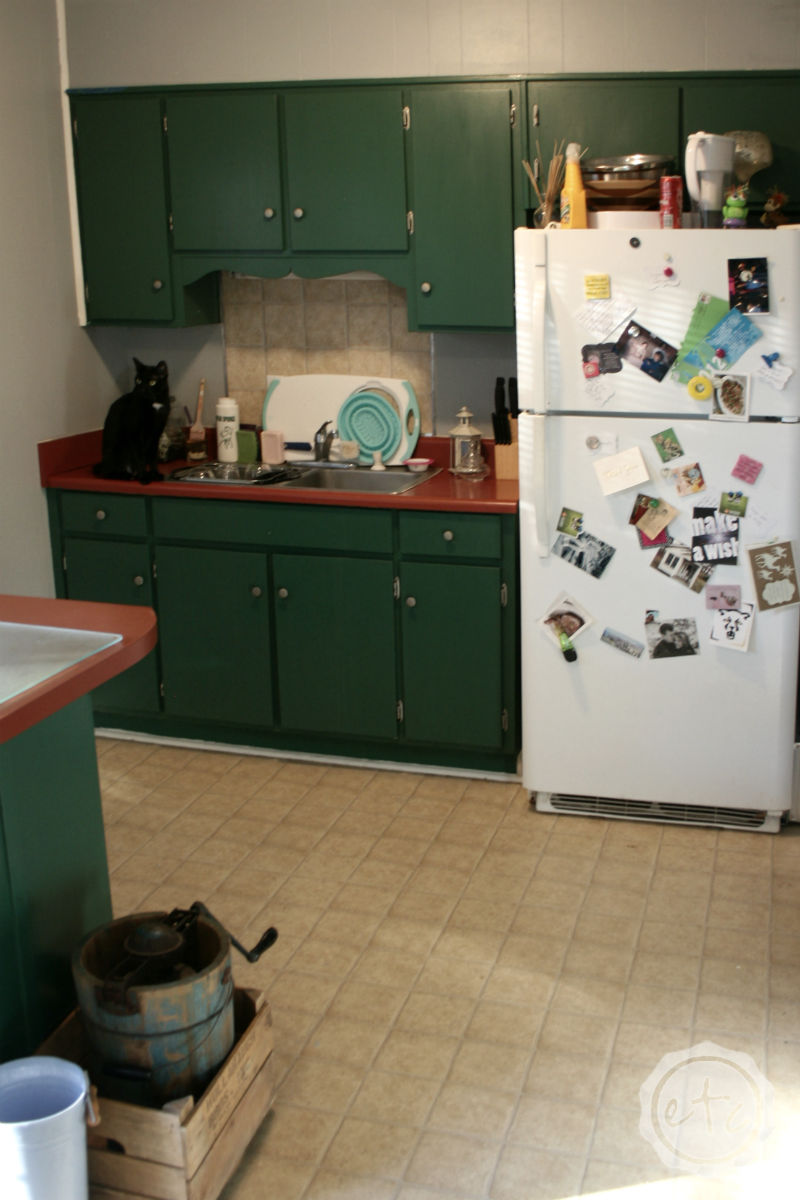 Kitchen Reveal with Happily Ever After, Etc.