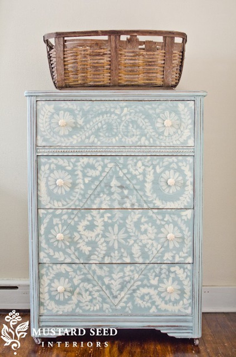 It's all about the Details... Hand Painted Dresser Details! with Happily Ever After, Etc.