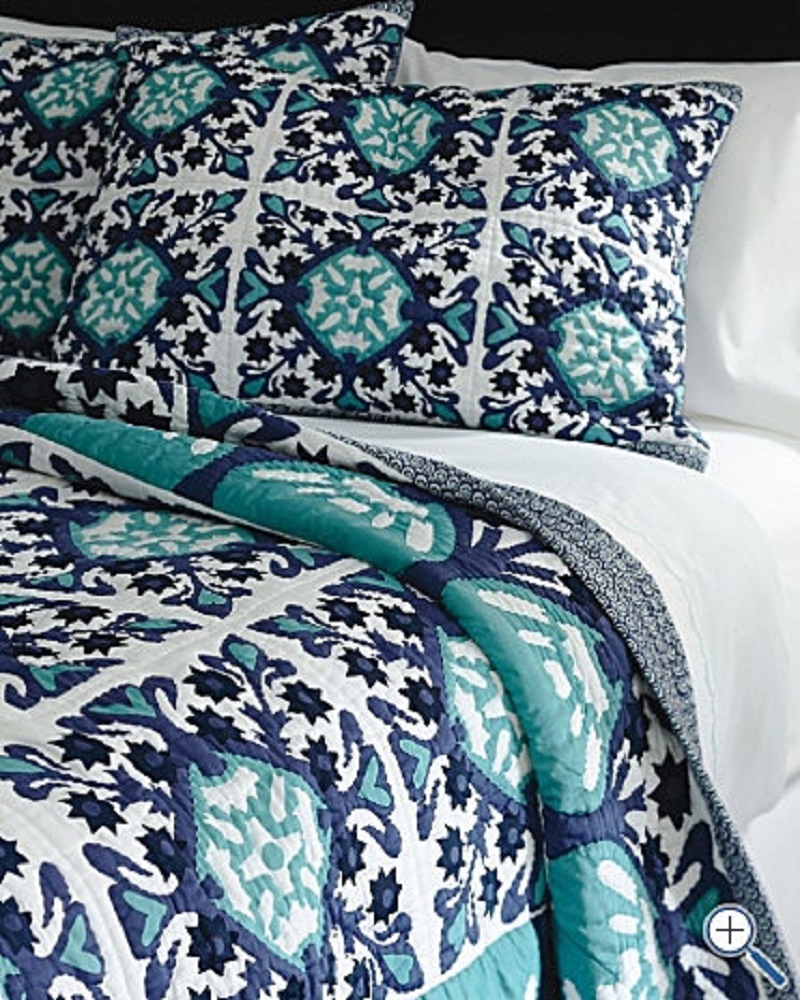 Guest Bedroom Inspiration... Navy and Sea Glass! - Happily ...