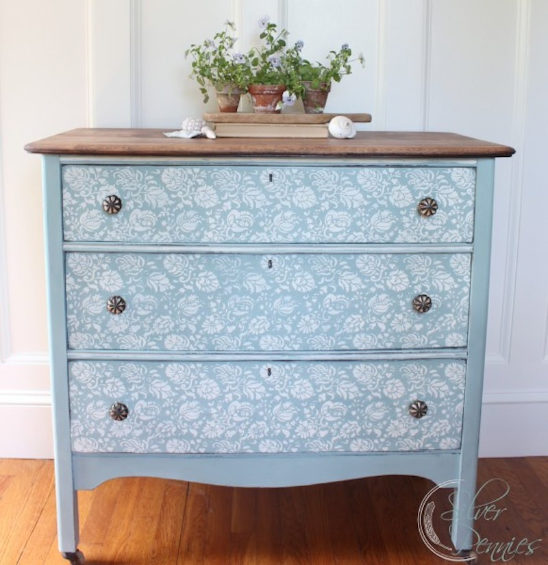 Hand Painted Dresser Details! With Happily Ever ...