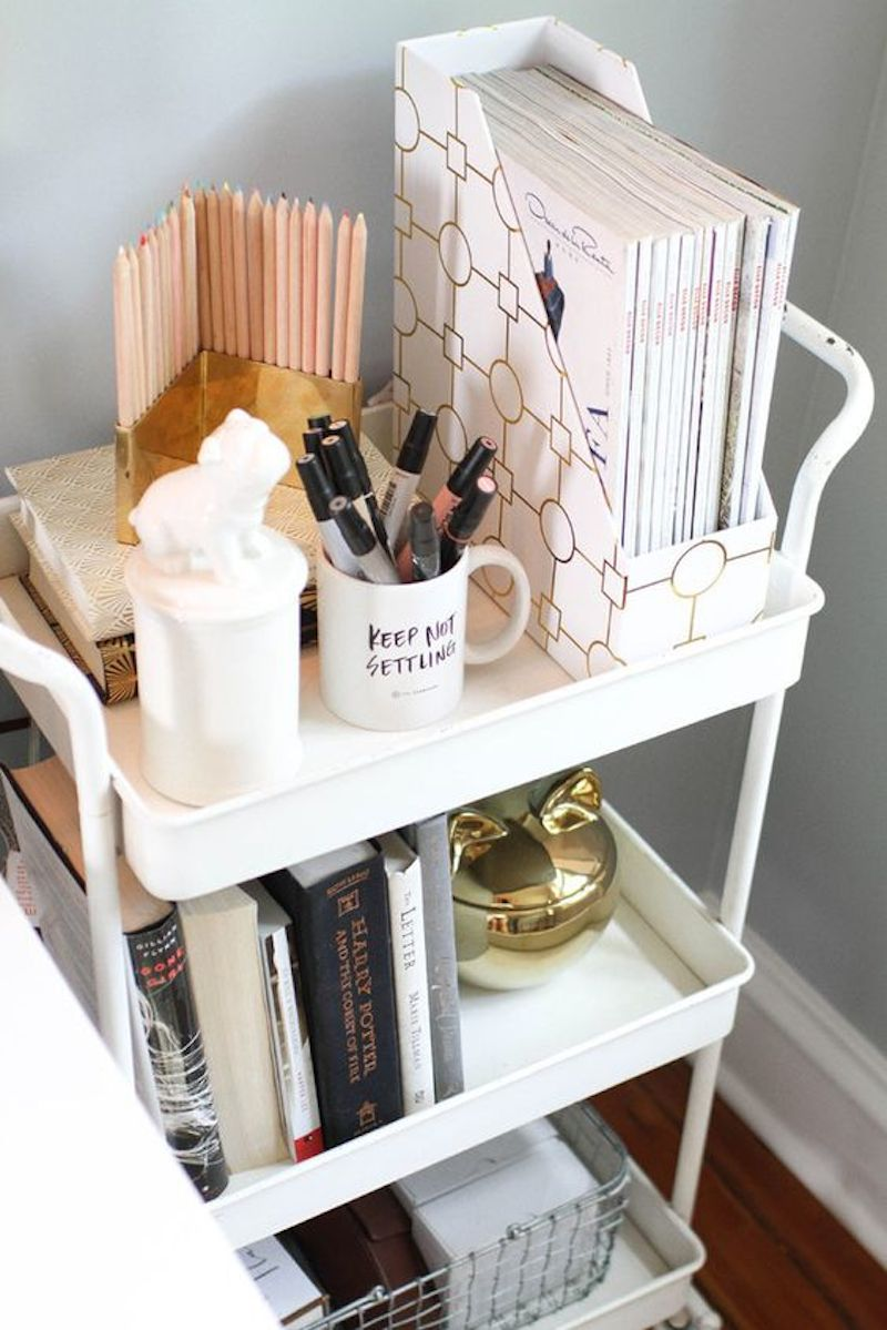 1 the every girl bar cart