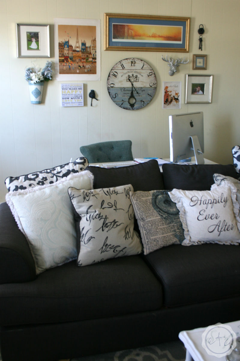 Living Room Reveal... Our Second Home! with Happily Ever After, Etc.
