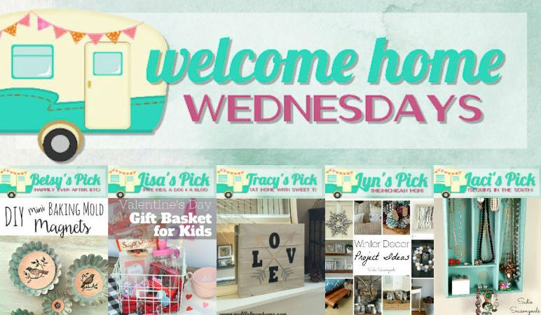 Welcome Home Wednesdays Link Party #25