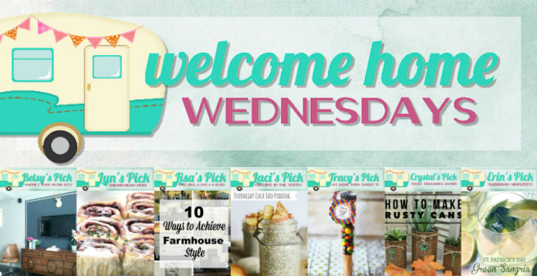 Welcome Home Wednesdays Link Party #29