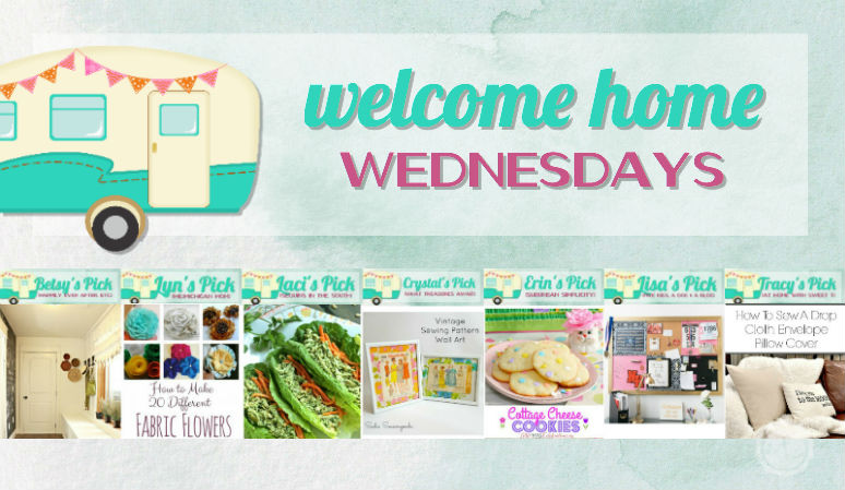 Welcome Home Wednesdays Link Party #31