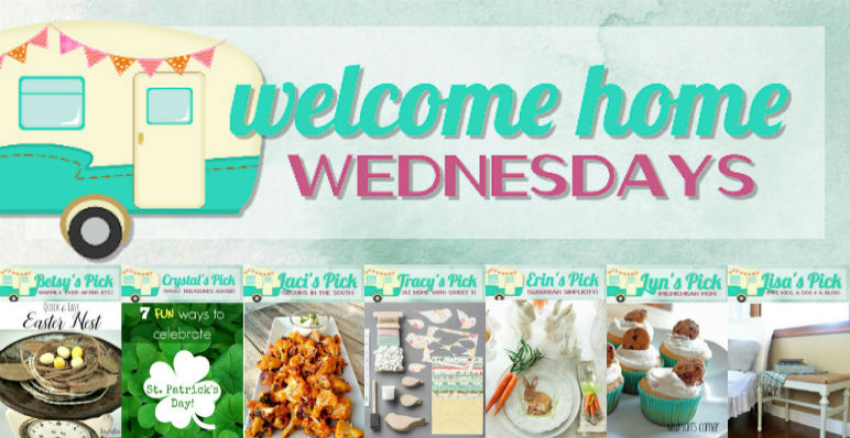 Welcome Home Wednesdays Link Party #30