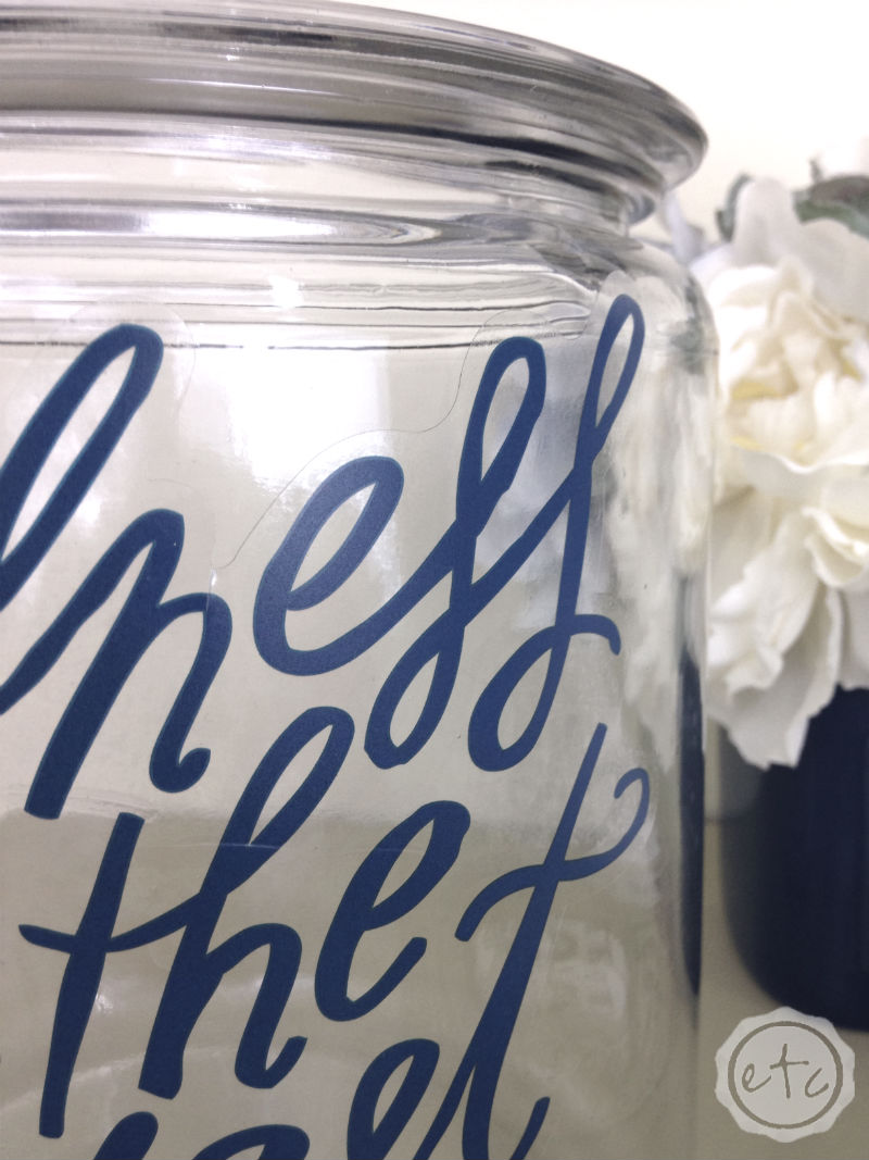 How to Create a Guest Room Jar: Little Things Your Guests will Appreciate! with Happily Ever After, Etc.