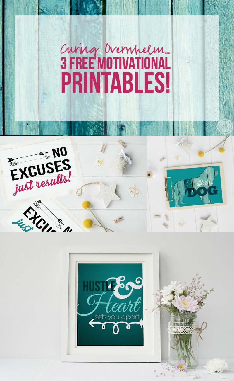 How cute are these free printables! I have to hang this over my desk where I'll see it every day! @HappilyEverAEtc