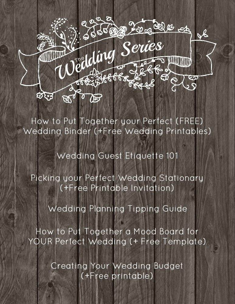 How To Plan Your Wedding Budget  Free Printable  Happily Ever