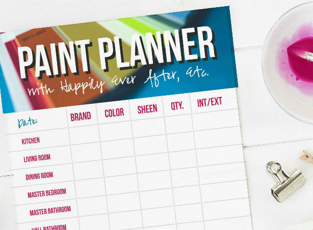 Quick and easy succulent garden happily ever after etc for Paint planner