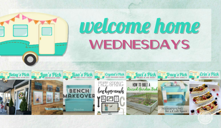Welcome Home Wednesdays Link Party #35
