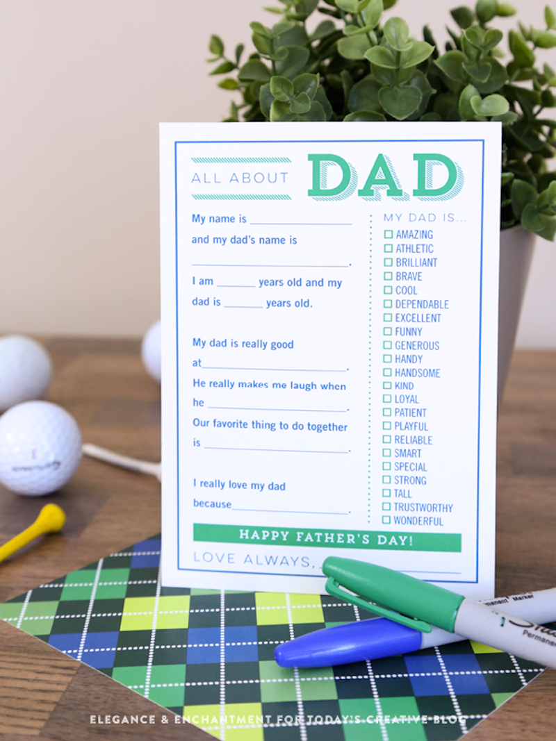 17 Free Father S Day Printables Happily Ever After Etc