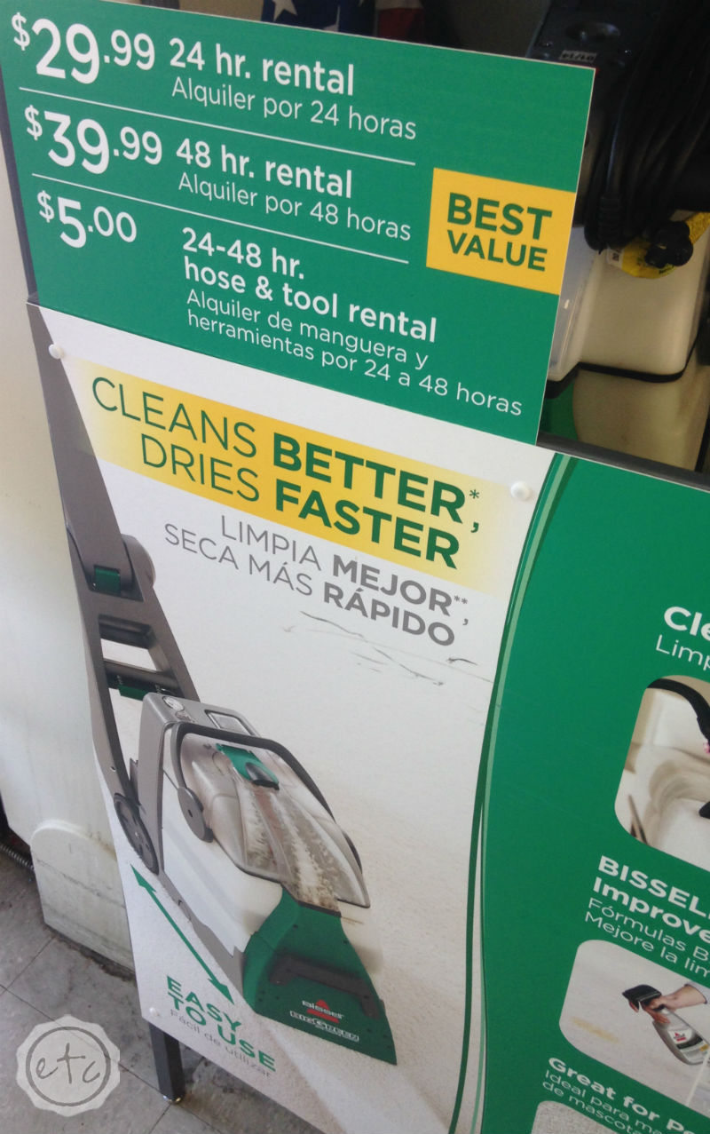 ... How To Deep Clean Your Carpets: Bissell Big Green Vs The Rug Doctor