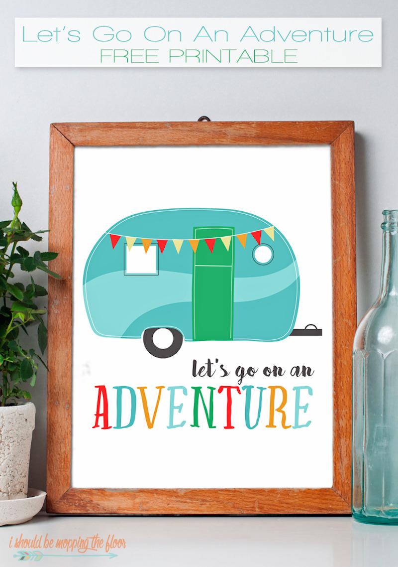 6 adventure FREE PRINTABLE