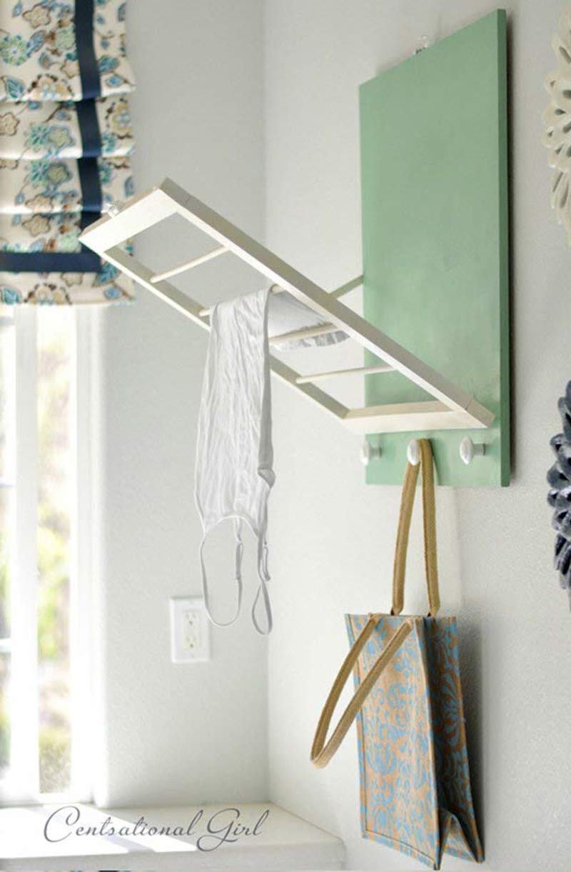 15 fabulous ideas to organize your laundry room happily Laundry room drying rack ideas