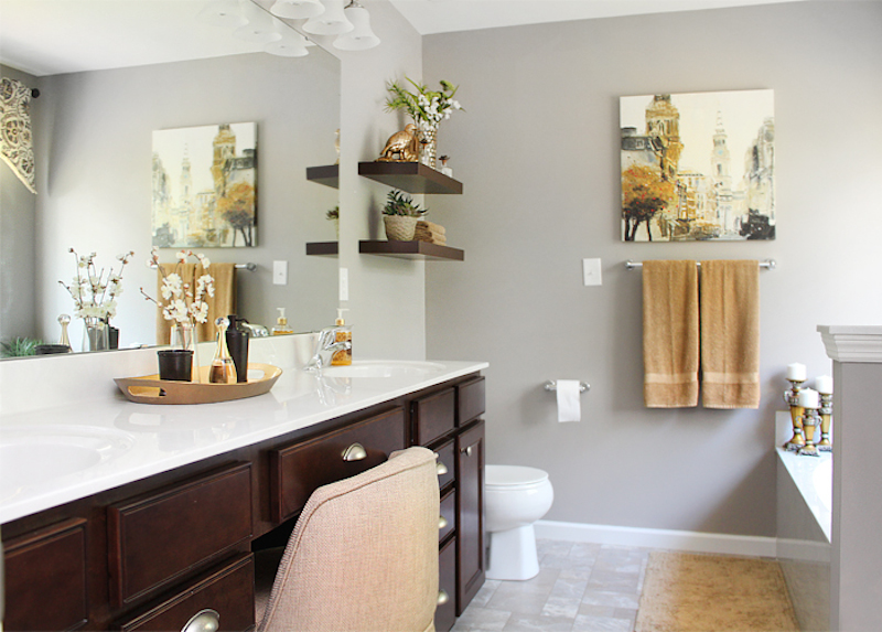 Amazing Master Bathroom Makeover: 7 Amazing Makeover's For Your Home