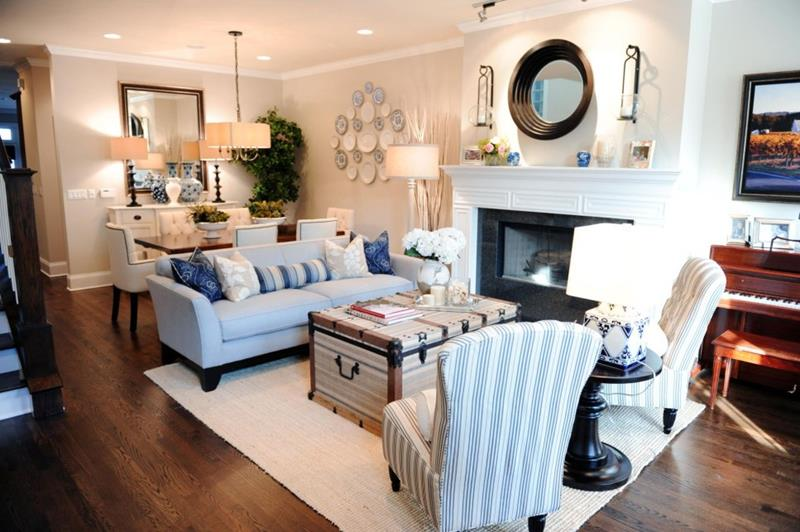 5 Tips For Decorating A Combined Living Dining Room: living and dining room together small spaces