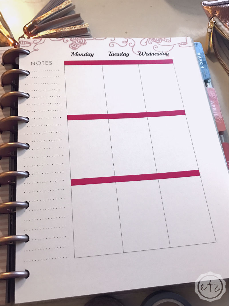 The Undated Life Planner to Match Your FREE Wedding Planner!