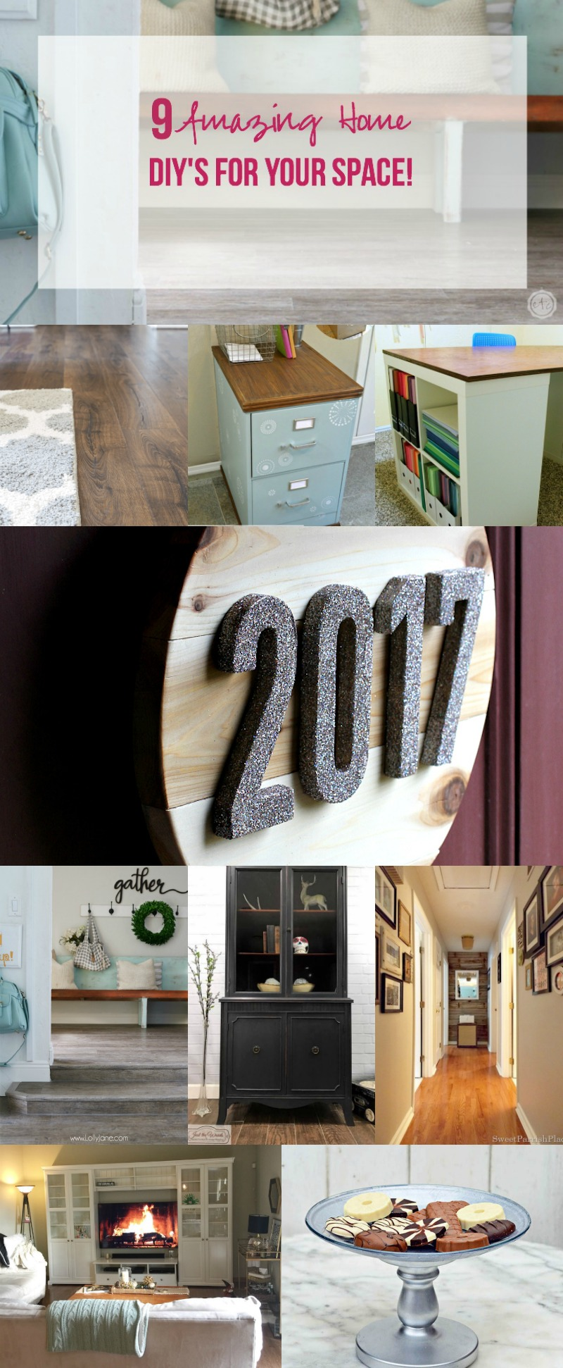 9 Amazing Home DIY's for Your Space!