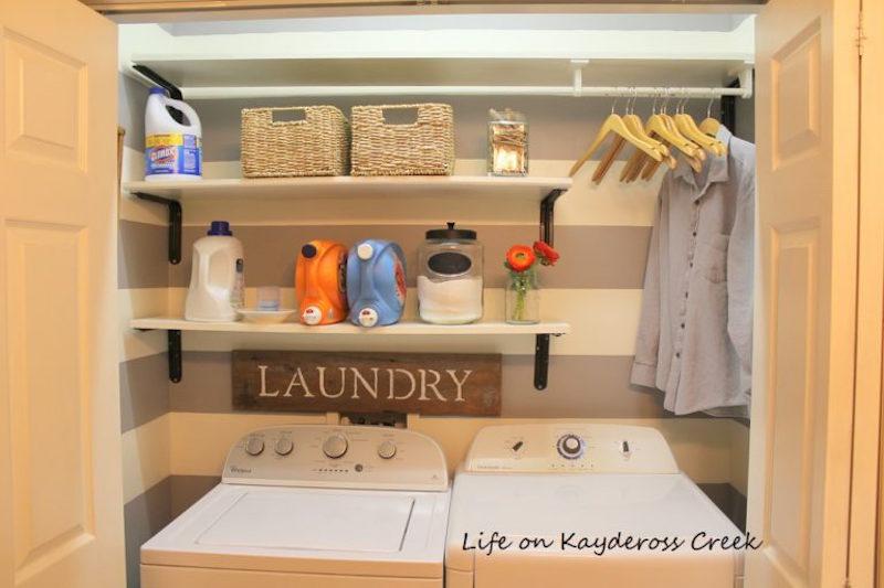 8 Laundry-Room-Organization-for-Under-100-Life-on-Kaydeross-Creek-DIY-Laundry-Sign-1-768x512