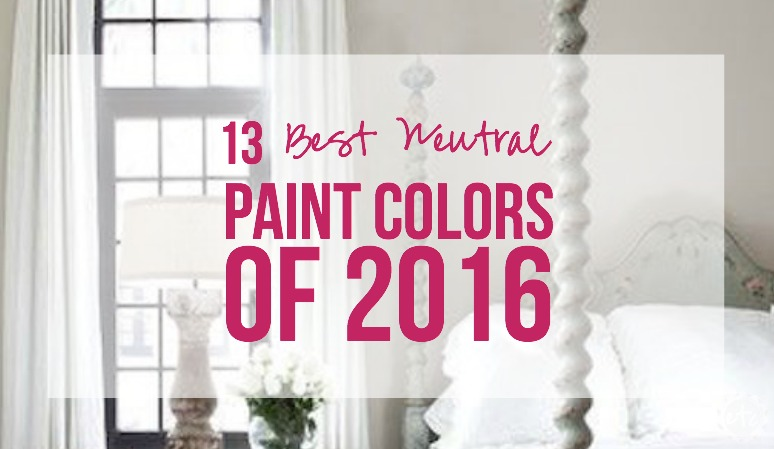 13 best neutral paint colors of 2016 happily ever after for Best neutral colors 2016