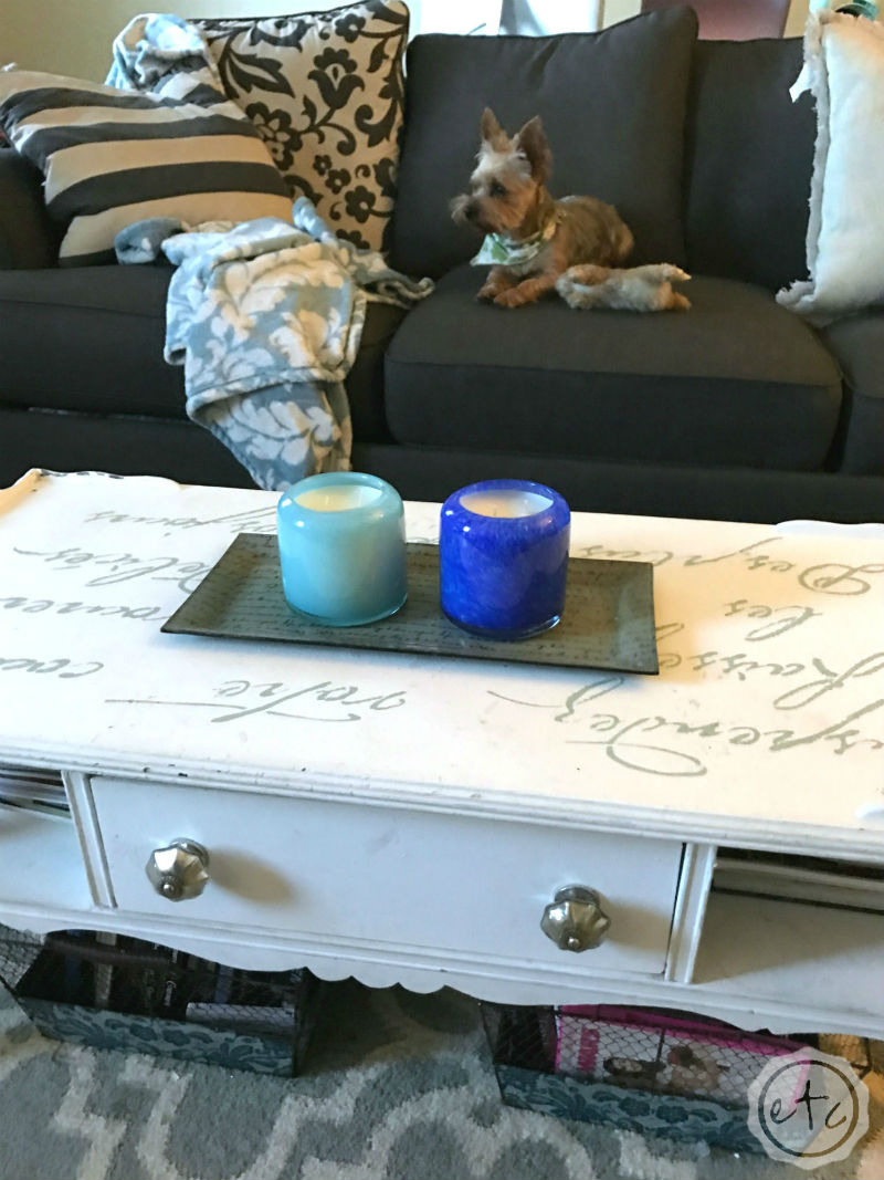 How to Decorate with Candles 1 Coffee Table 3 Ways