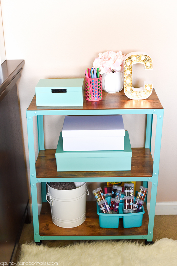 Craft-Room-Organization-Storage-Cart