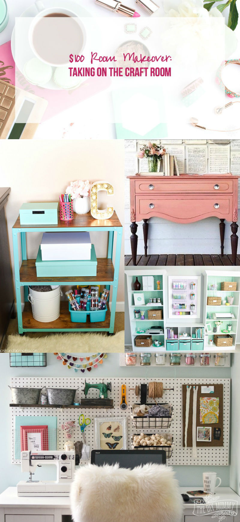 $100 Room Challenge: Taking on the Craft Room