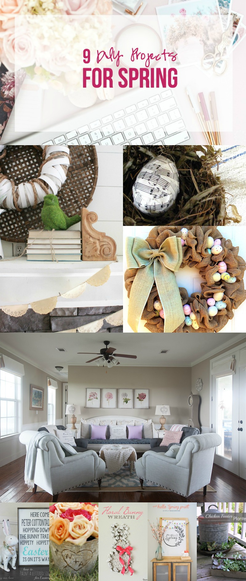 9 DIY Projects for Spring