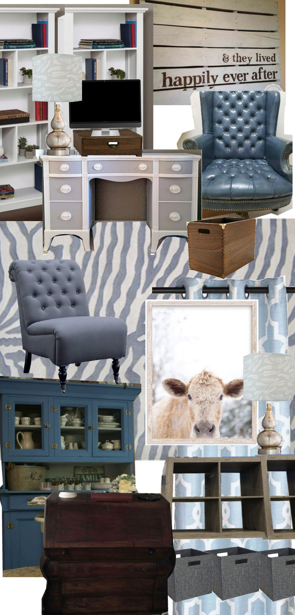 Trevor Office Mood Board