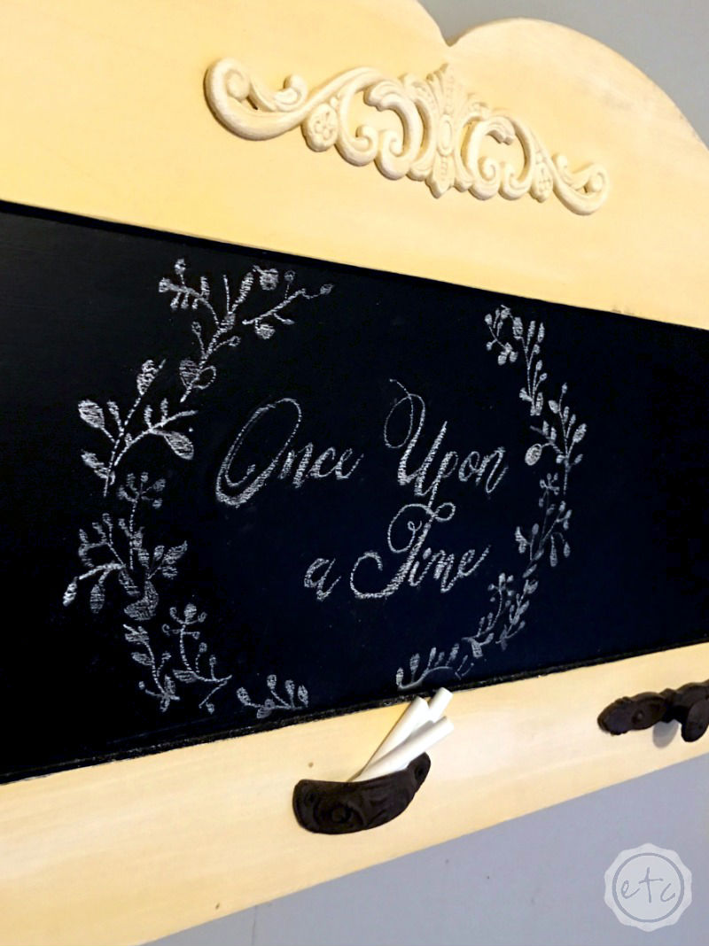 One Easy Tip for Perfect Chalkboard Letters that even Non-Crafters can Master!!