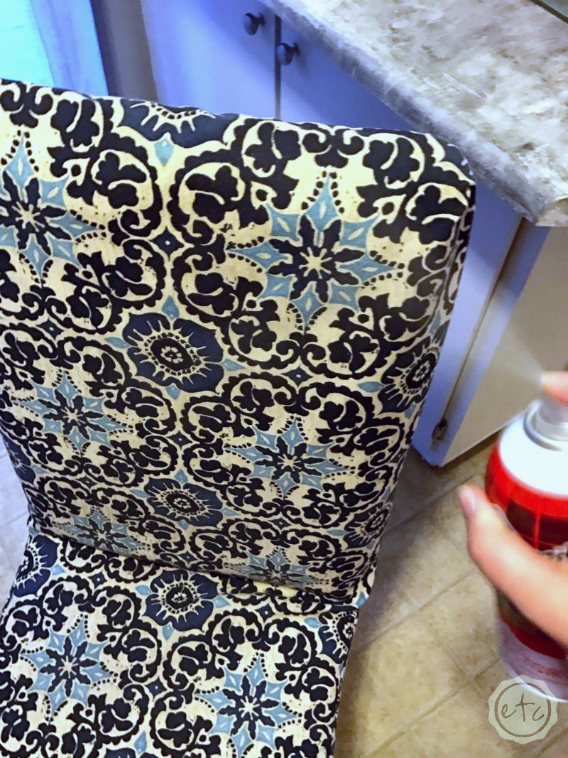 Quick and Easy DIY Tufted Bench Cushion