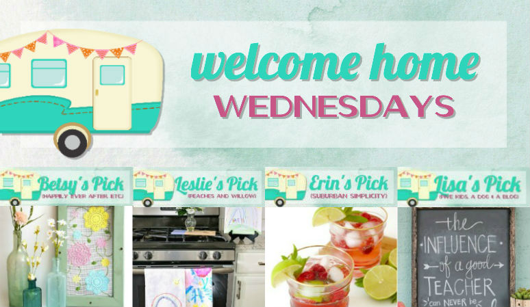 Welcome Home Wednesdays Link Party #91