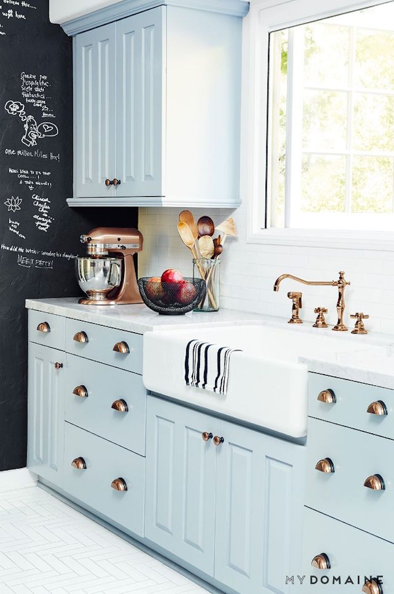Take A Look And If You Love One Of These Kitchens Click On The Image To  Find The Original Sourceu2026 Many Of Them Have Sooooo Many More Photos Of  Copper ...