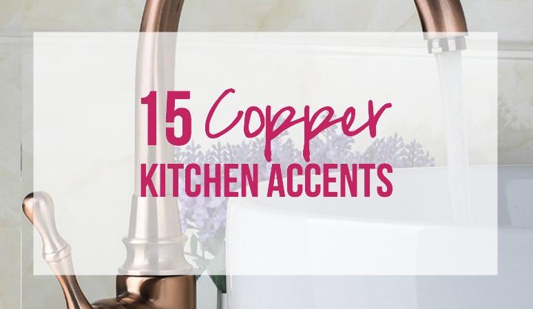 15 Copper Kitchen Accents