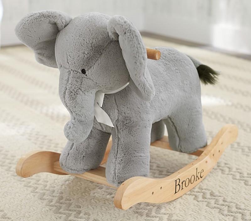 Blue, Gray And White Elephant Nursery Inspiration