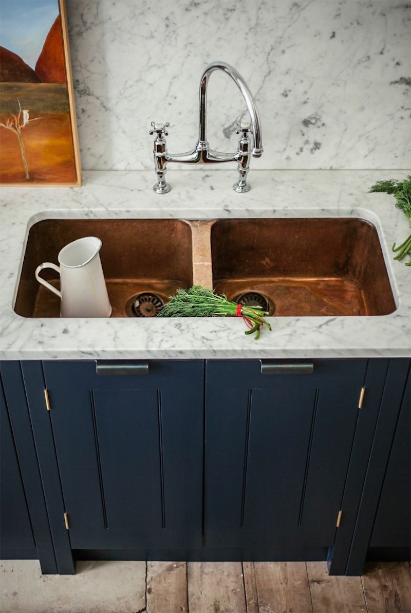 17 Beautiful Copper Kitchens Happily Ever After Etc