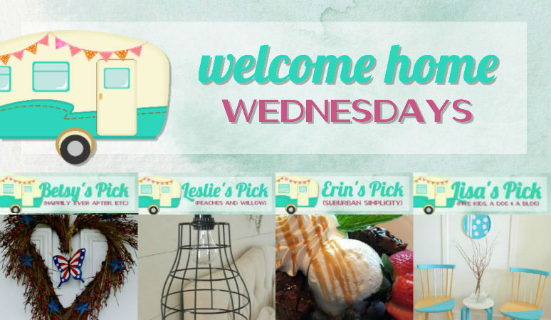 Welcome Home Wednesdays Link Party #97