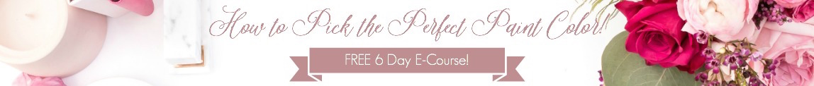 FREE 6-Day Ecourse to Pick your Perfect Paint Color